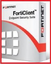 Антивіруснепрограмне забезпеченнявід Fortinet Forticlient