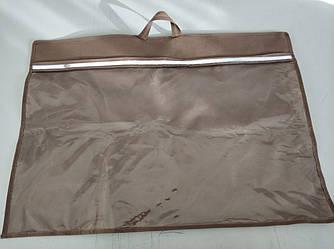 Упаковка для подушки 50х70 см усиленная ручка ПВХ 90 Коричневый