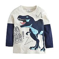 Реглан для мальчика Большой Динозавр