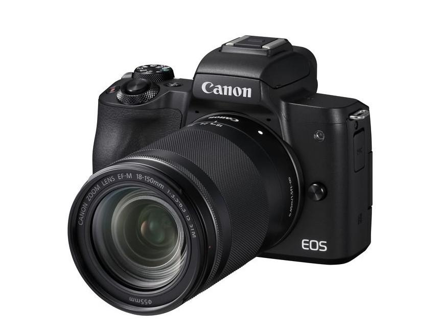 Беззеркальная камера CANON EOS M50 + EF-M 18-150mm IS STM BLACK