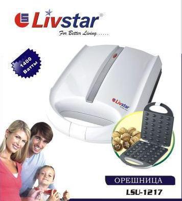 Готовим дома, как приготовить орешки, орешница Livstar LSU-1217 , фото 2