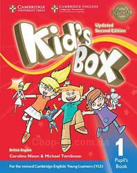 Учебник Kid's Box Updated Second Edition 1 Pupil's Book