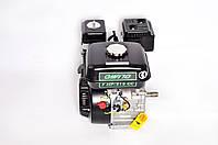 Двигун бензиновий GrunWelt GW170F-T/25 NEW Євро 5 (шліци 25 мм, 7.0 л. с.), фото 1