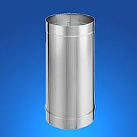 Труба дымоходная из нержавеющей стали STANDART MONO STALAR  (одностенная) AISI 304, 0.3 м 1.0 мм ДЫМОХОДЫ АДС