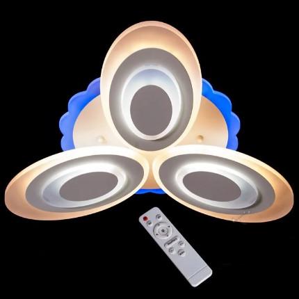 Люстра классическая, хай-тек,DJ126/MX2298/3BK, ЧЕРНАЯ, LED dimm