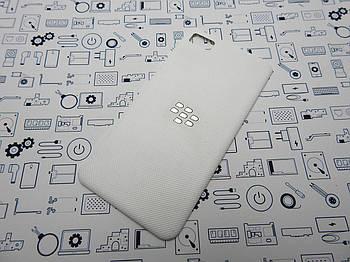 Задняя крышка Blackberry Z10 (STL100-2) белая Сервисный оригинал с разборки