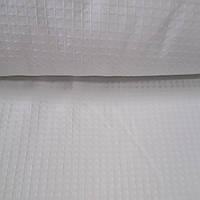 Вафельний полотно біле 195 см на метраж щільність 200