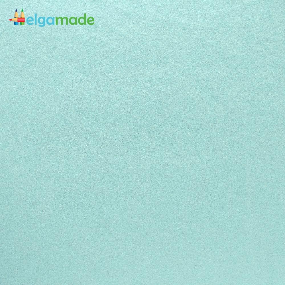 Фетр американский НЕБЕСНО-ГОЛУБОЙ, 15x23 см, 1.3 мм, полушерстяной мягкий