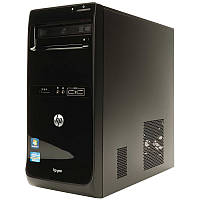 Системный Блок Б/У Hp 3400 I5 2400/RAM 8/HDD 500/AMD RX 560 4 gb