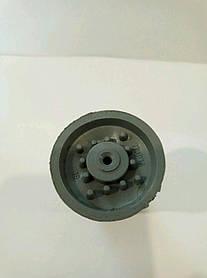 Наконечник для трости (палки) шипованый резиновый светлый № 19 МИРТА (6897)