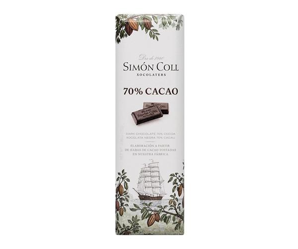 Черный шоколад SIMON COLL 70% 25 г