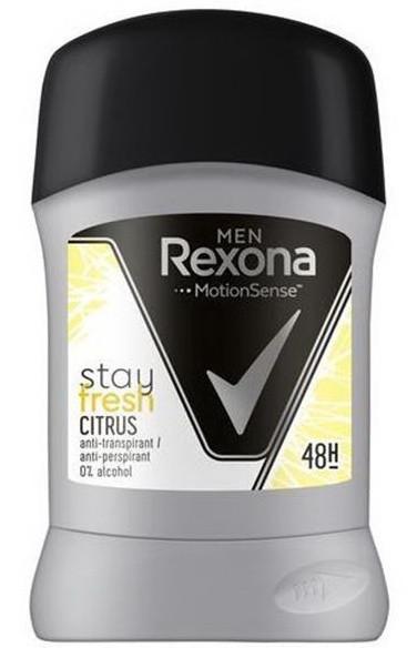 Дезодорант Rexona стік MEN Цитрус