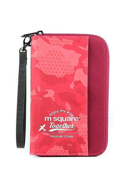 Органайзер для документов M Square компактный розовый хаки