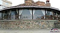 Прозрачные защитные роллеты из поликарбоната на окна и двери