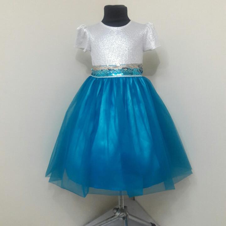 Платье для девочки 3-7 лет на утренник оптом