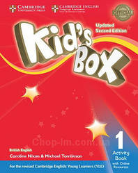 Kid's Box Updated Second Edition 1 Activity Book with Online Resources / Рабочая тетрадь