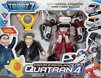 Трансформер Кватран Q1907 Тобот Tobot Quatran с героями оптом