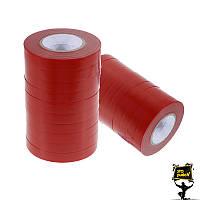Лента для степлера для подвязки красная TITAN 20 штук