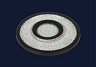 Врезной точечный светильник металлический подсменную лампу мр 16&716MKD-C23 BK (LED лента в комплекте)
