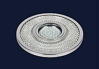 Врезной точечный светильник металлический подсменную лампу мр 16&716MKD-C23 CR (LED лента в комплекте)