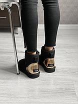 Угги женские в стиле UGG Australia Classic Mini Black, фото 3