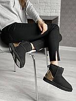 Угги женские в стиле UGG Australia Classic Mini Black, фото 2
