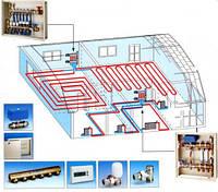 """Опция """"Теплые полы во всем доме"""" - Проектирование системы отопления"""