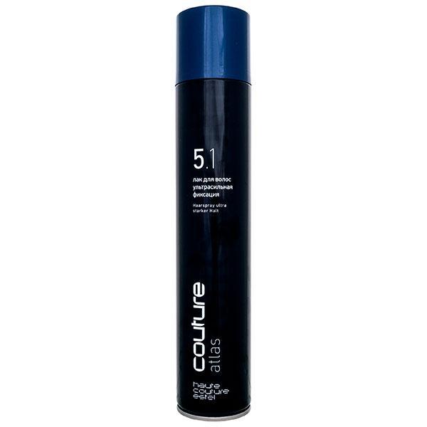 Лак для волос ультрасильной фиксации Estel Professional Haute Couture Atlas,400 мл