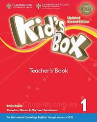 Книга для учителя Kid's Box Updated Second Edition 1 Teacher's Book with Online Audio