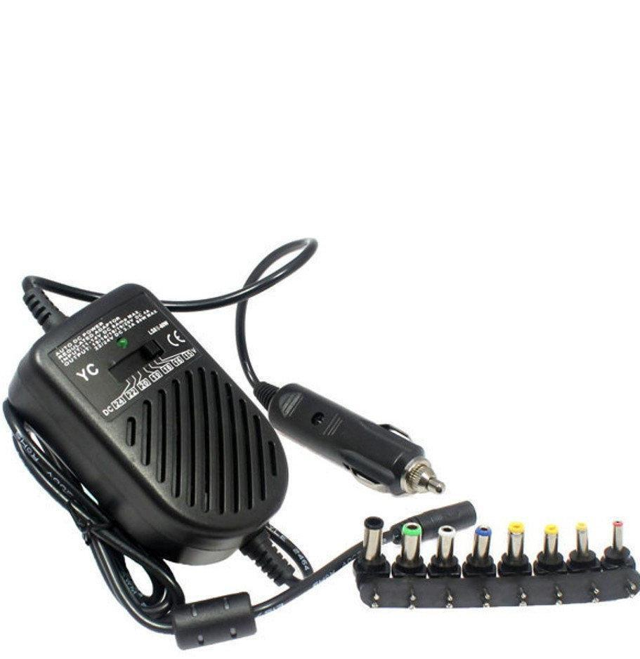 Зарядка автомобильная 12V для ноутбука 80W в блистере PR2
