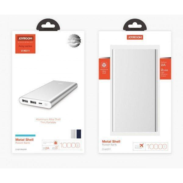 Портативная батарея Power bank JOYROOM D-M211 10000 mah / Портативное зарядное устройство CG09 PR4