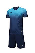 Футбольная форма Europaw 024 сине-голубая, фото 3