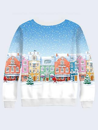 Cвитшот Зимний городок, фото 2