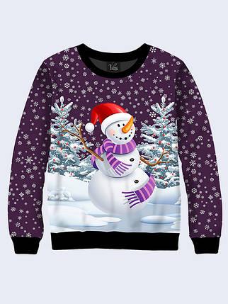 Свитшот Веселый снеговик, фото 2