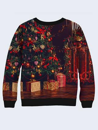 Cвитшот Санта Клаус с подарками, фото 2