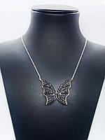 """Кулон з срібла 925 Beauty Bar """"Метелик Swarovski"""", фото 1"""