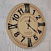 Деревянные настенные часы - новое поступление