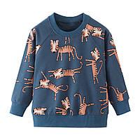 Реглан для мальчика Веселые тигрята