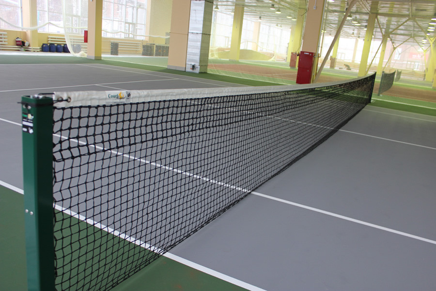 Сетка для большого тенниса капроновая D-3,5 мм, яч.50 мм