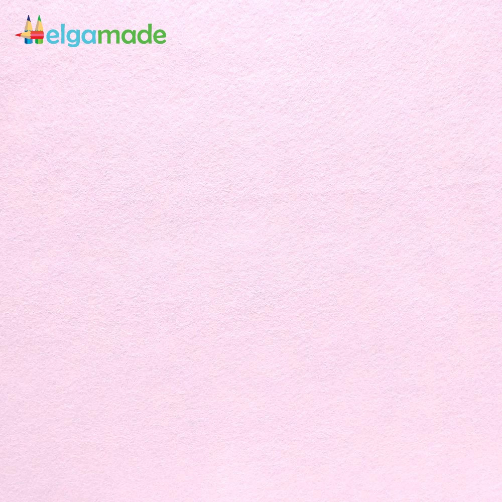 Фетр американский РОЗОВЫЙ ТУМАН, 15x23 см, 1.3 мм, полушерстяной мягкий