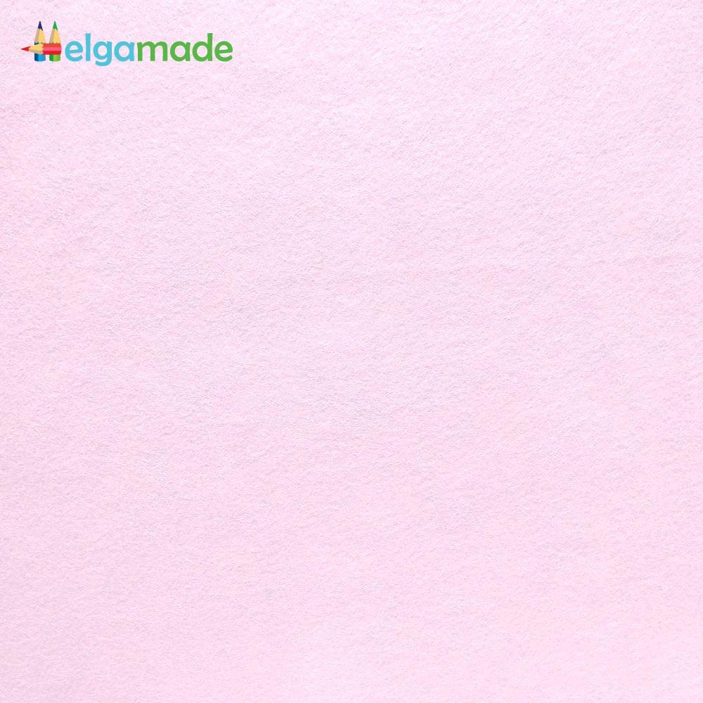 Фетр американский РОЗОВЫЙ ТУМАН, 31x46 см, 1.3 мм, полушерстяной мягкий