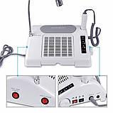 Багатофункціональне обладнання 3в1 (фрезер, лампа, витяжка) Nail Salon Expert Machine TP808, фото 2