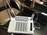 Багатофункціональне обладнання 3в1 (фрезер, лампа, витяжка) Nail Salon Expert Machine TP808, фото 5