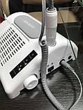 Багатофункціональне обладнання 3в1 (фрезер, лампа, витяжка) Nail Salon Expert Machine TP808, фото 7