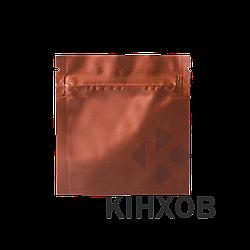 Пакет Саше 80х80 коричневый zip-замок