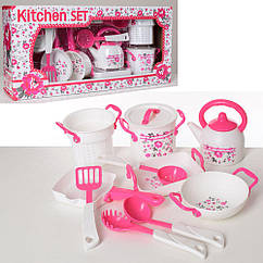 Посуда LN593A-B чайник, кастрюля.