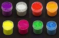 Набор Флуоресцентные пигменты 10 мл.8 штук  для геля ,акрила, лака, дизайнов светятся в ультрафиолете