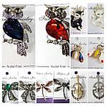 Эксклюзивные брошки, украшения и аксессуары для одежды оптом.