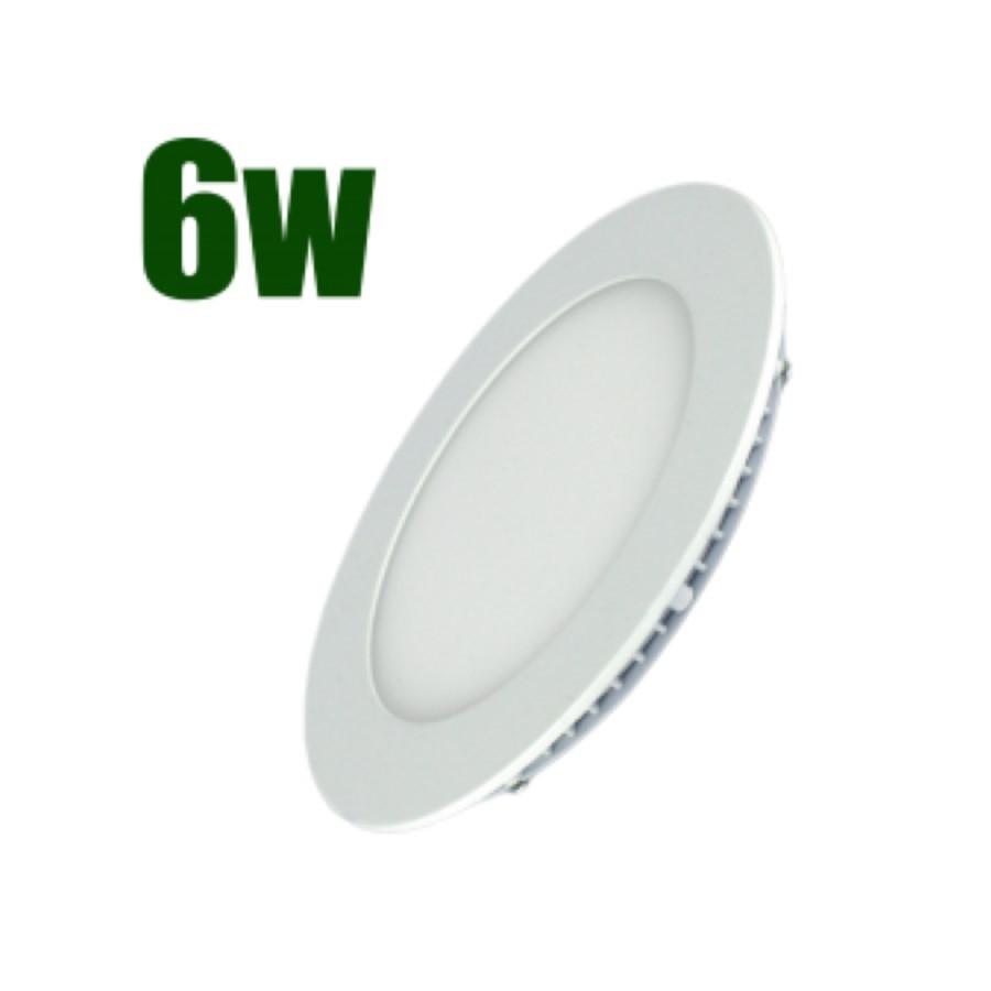 Светильник светодиодный встраиваемый LEDSTAR 6Вт 6500К 300lm круг (102936)