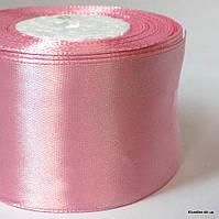 Лента атласная, 5 см, Цвет: Розовый (5 метров/уп.)